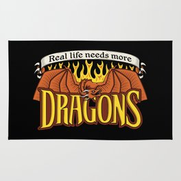 More Dragons Rug