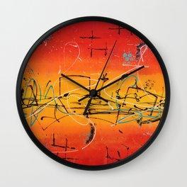 Hot Aurora Wall Clock