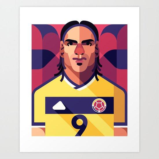 RF9 | Los Cafeteros Art Print
