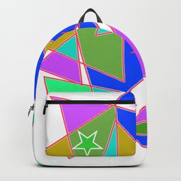 In triangle Backpack