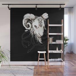 Lucifer's Lil' Baphomet Wall Mural