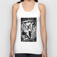 boxing Tank Tops featuring boxing by natalie shaul