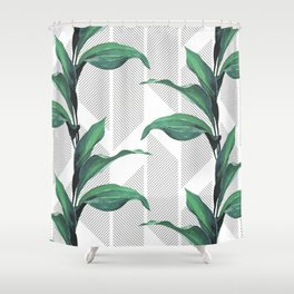 Greenhouse -jungle Shower Curtain