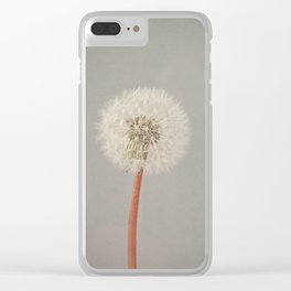 The Passing of Time Clear iPhone Case