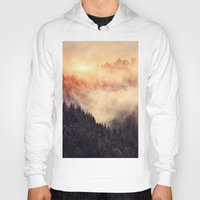 sky Hoodies featuring In My Other World by Tordis Kayma