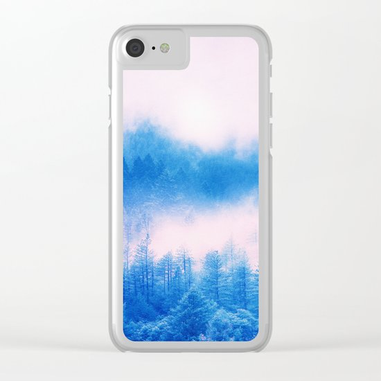 Pastel vibes 03 O -P Clear iPhone Case