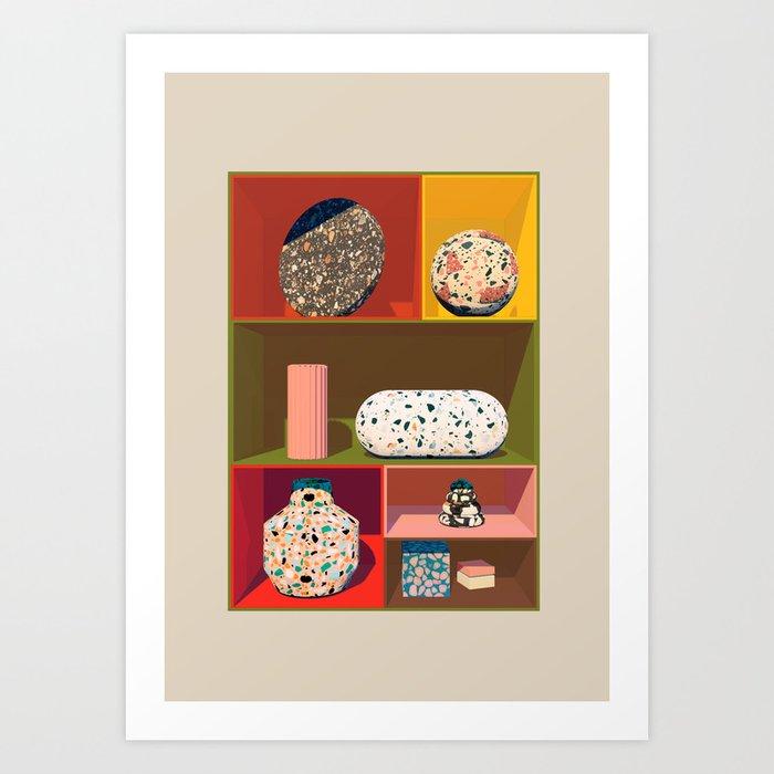 I Dream In Terrazzo Art Print