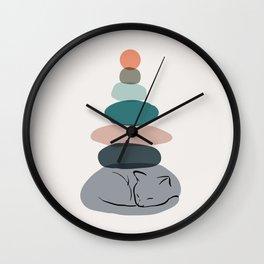 Cat Landscape 58 Wall Clock