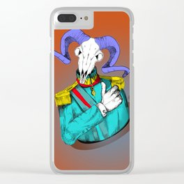 General Goat Likes This Clear iPhone Case
