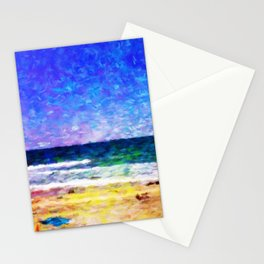 Mission Beach - Help Fund Education for Impoverished Kids in Malawi, Africa @MoreThanAid Stationery Cards