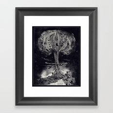 End Framed Art Print
