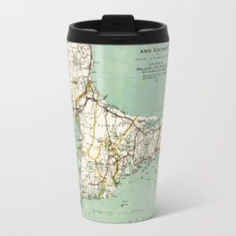 Cap Cod and Vicinity Map Travel Mug