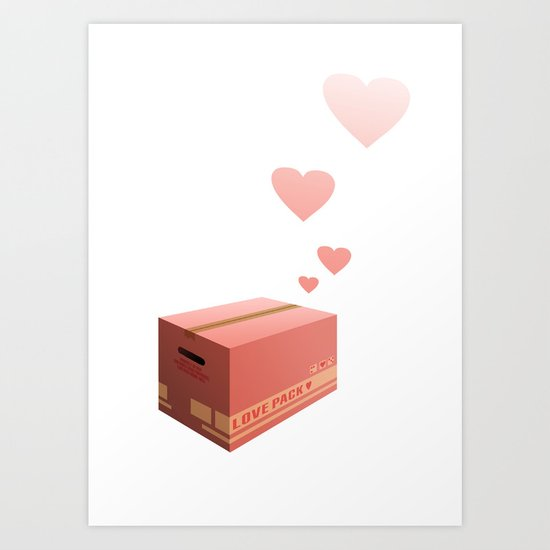 Love Box Art Print