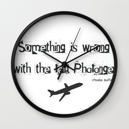 Phoebe Buffay Wall Clock