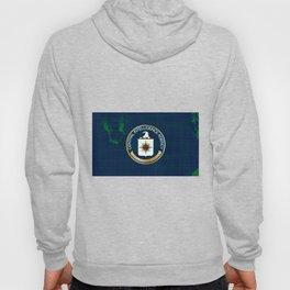 CIA Flag Grunge Hoody