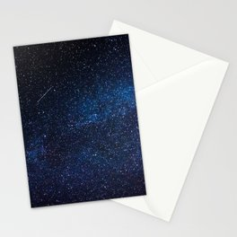 Blue Deep Space Stationery Cards