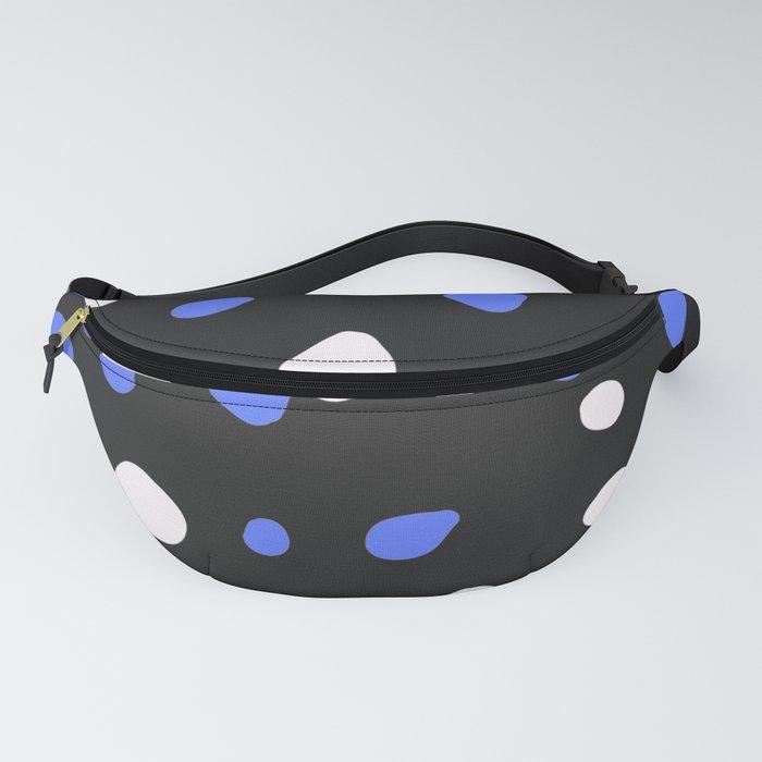 Dark blue terrazzo Fanny Pack