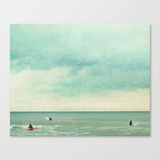 Only Chasing Safety Canvas Print