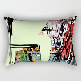 Storm outside Rectangular Pillow