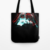 darth Tote Bags featuring DARTH by JACK TUB