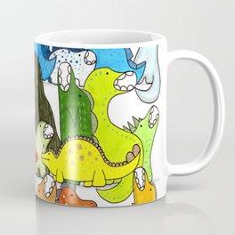 Rainbow Dinosaur Gradient Coffee Mug