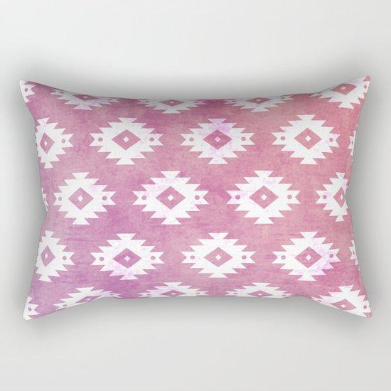 Aztec Pattern 10 Rectangular Pillow