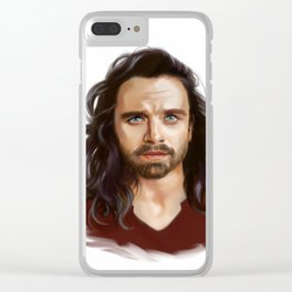 bucky with the good hair Clear iPhone Case