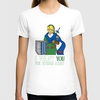 hyrule T-shirts featuring Hyrule Recruitment by PeterParkerPA