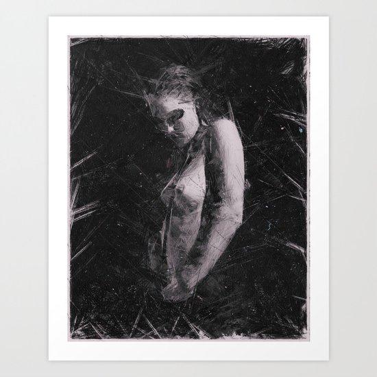 Madness & Me 2 Art Print