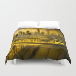 City-Shapes NYC Duvet Cover
