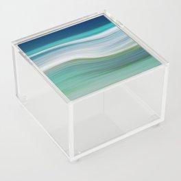 OCEAN ABSTRACT Acrylic Box