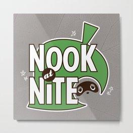 Nook at Nite Metal Print