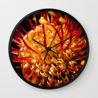 candy Wall Clocks featuring Candy by Stephen Linhart