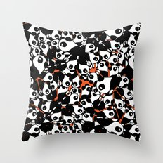 PANDA! PANDA! PANDA! Throw Pillow