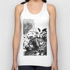 Black Cat InkWork Unisex Tank Top