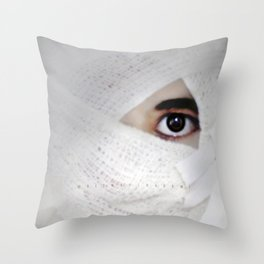 Awake and Alive Throw Pillow