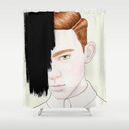 Hiding #2 Shower Curtain