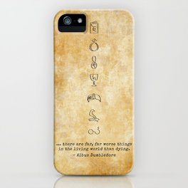 Horcruxes iPhone Case