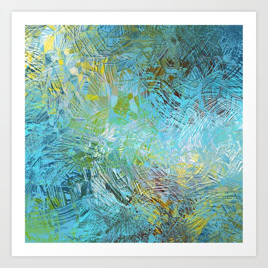 Frosted Illusions Art Print