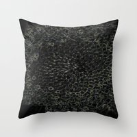 sacred geometry Throw Pillows featuring Sacred Geometry by Wghdesign