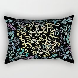 Your Word is a Lamp - Psalm 119:105 Rectangular Pillow