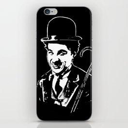 CHARLIE CHAPLIN THE COMIC GENIUS iPhone Skin
