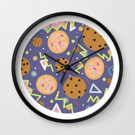 Kookie Purple Wall Clock