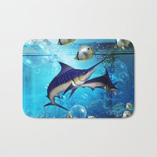 Underwater world Bath Mat