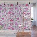 Sea pattern no 2 (pink) by dreamerland