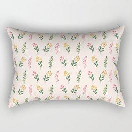 Cute botanic florals Rectangular Pillow