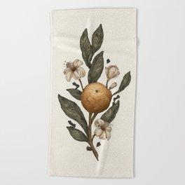 Clementine Beach Towel