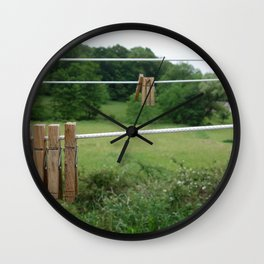 Pins Wall Clock