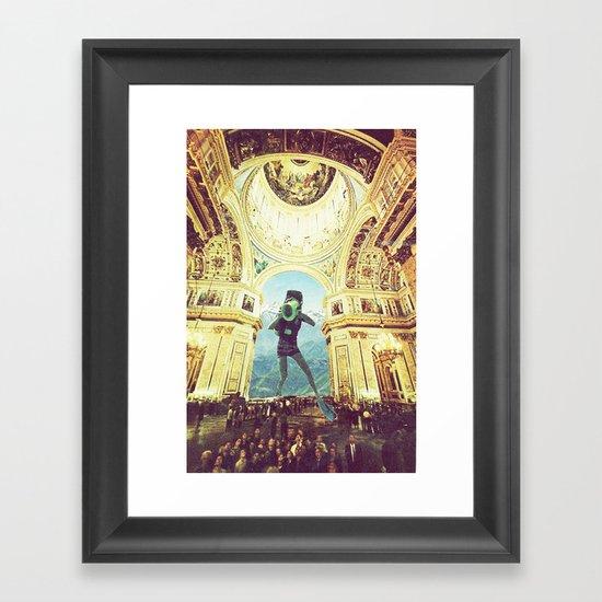 scuba Framed Art Print