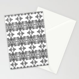 Ornament - Tree of Life - Rebirth - Mehndi Love - White #1 Stationery Cards